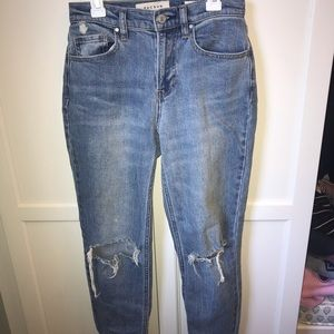 pacsun ripped vintage icon jeans